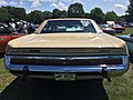 1973 AMC Ambassador Brougham sedan in beige with cinnamon and a 401 V8 at 2015 Macungie show 05.jpg