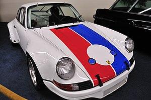 Peter Gregg (racing driver) - 1973 Porsche 911 Carrera RSR  of Peter Gregg