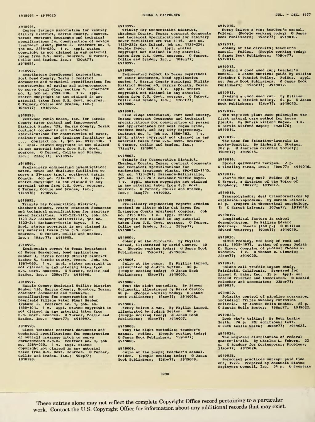Page:1977 Books and Pamphlets July-Dec djvu/1204 - Wikisource, the