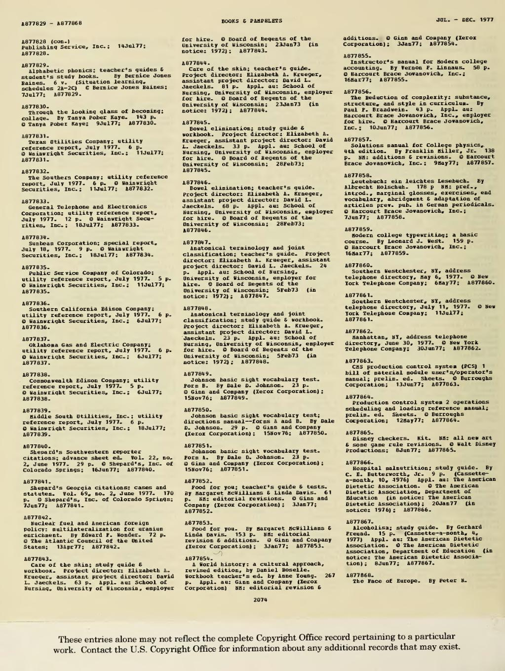 Page:1977 Books and Pamphlets July-Dec djvu/188 - Wikisource, the