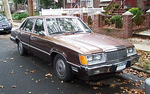 Ford Fox platform - 1983 Mercury Marquis