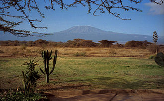 Southeast Africa - Mount Kilimanjaro, Africa's highest mountain