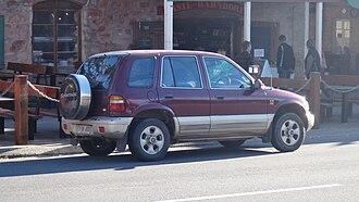 Kia Sportage - Kia Sportage wagon (Australia)