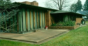 John D. Haynes House - The back of the house