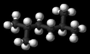2,5-Dimethylhexane - Image: 2,5 Dimethylhexane 3D balls