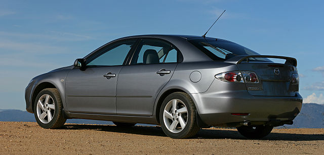 file 2003 mazda6 gg classic hatch rear mcmillans lookout vic wikimedia commons. Black Bedroom Furniture Sets. Home Design Ideas