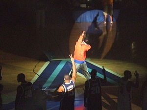 Tony Yayo - Tony Yayo performing at Villanova Hoops Mania in 2005.