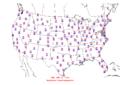 2006-04-18 Max-min Temperature Map NOAA.png