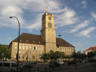 Governing Mayor of Berlin -  The Rathaus Schöneberg was the seat of the Mayor of West Berlin during the Division of Germany.
