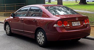 Honda Civic (eighth generation) - Honda Civic sedan (pre-facelift)
