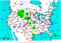 2007-05-22 Surface Weather Map NOAA.png