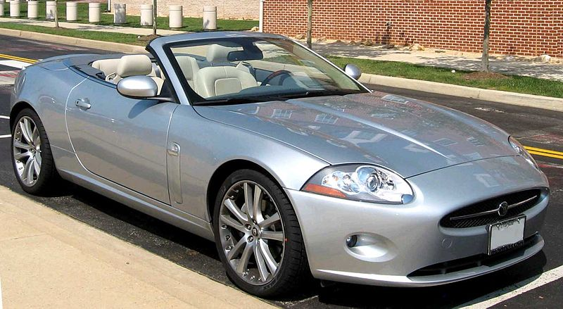 File:2007 Jaguar XK8 Convertible