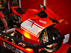 2007 Ducati Desmosedici RR on display at the 2...