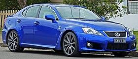 2008-2010 Lexus IS F (USE20R) Sports Luxury sedan 01.jpg