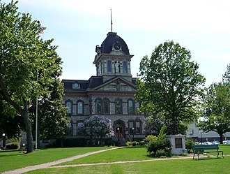 Sault Ste. Marie, Michigan - Chippewa County Courthouse.