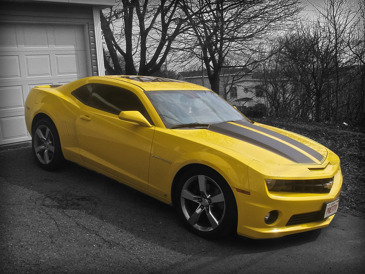 File 2010 Chevrolet Camaro Ss Jpg Wikimedia Commons