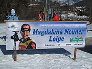 20100221-Magdalena Neuner Loipe