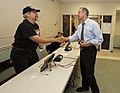 20110913-governor votes and has lunch with mayor rawlings blake-jb (6165636833).jpg
