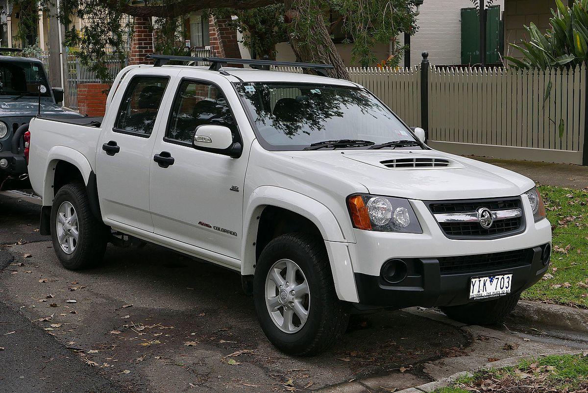 Holden Colorado - Wikipedia
