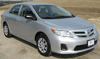 The Toyota Corolla is the best-selling car of all-time 2011 Toyota Corolla -- NHTSA.jpg