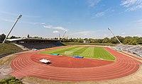 2013-08-23 Sportpark Nord, Bonn - Stadion; Ansicht aus Südsüdost IMG 5120.jpg