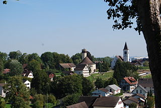Bussnang municipality in the canton of Thurgau, Switzerland