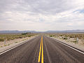 2014-07-17 13 38 01 View east along U.S. Route 6 about 34.9 miles east of the Esmeralda County Line in Nye County, Nevada.JPG