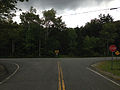 2014-08-28 12 38 14 View east at the east end of Taborton Road (Rensselaer County Route 42) at Dutch Church Road (Rensselaer County Route 41) in Berlin, New York.JPG
