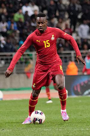 Richmond Boakye - Boakye with the national team of Ghana in 2015
