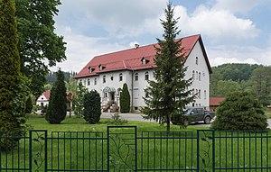 Strachocin, Lower Silesian Voivodeship - Image: 2015 Budynek nadleśnictwa w Strachocinie 01