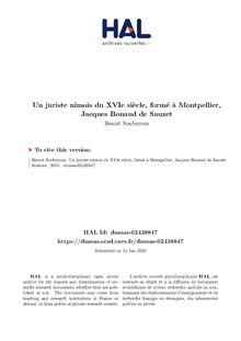 Histoire civile, ecclésiastique et littéraire de la ville de Nismes. T 1 (Éd.1744-1758) - Léon Ménard