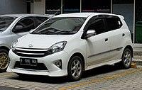 2015 Toyota Agya 1.0 TRD S hatchback (B100RA; 12-15-2018), South Tangerang.jpg