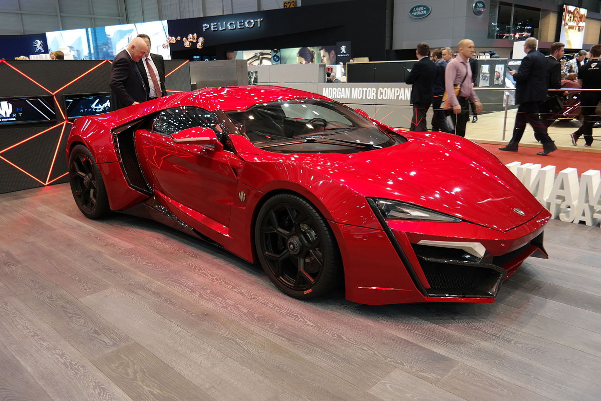 w motors lykan hypersport wikipedia