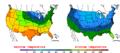 2016-04-08 Color Max-min Temperature Map NOAA.png