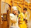2016-07-22 21-55. Епископ Вениамин (Тупеко) возглавляет богослужение.jpg