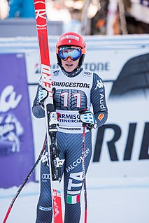 Federica Brignone Italian World Cup alpine ski racer