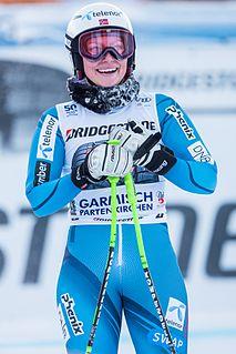 Ragnhild Mowinckel Norwegian alpine skier