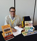 2018 Larry Lester at SABR National Convention Pittsburgh 2018.jpg