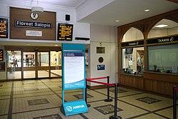 2018 at Shrewsbury station - ticket office.JPG