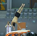 2019-06-26 1st FIG Artistic Gymnastics JWCH Men's Training 26 June Morning 2 Vault (Martin Rulsch) 11.jpg
