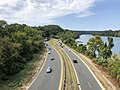 2019-09-16 13 28 37 View north along the George Washington Memorial Parkway from U.S. Route 29 (Francis Scott Key Bridge) in Arlington County, Virginia.jpg