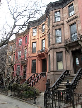 Immeubles de Prospect Height à Brooklyn.