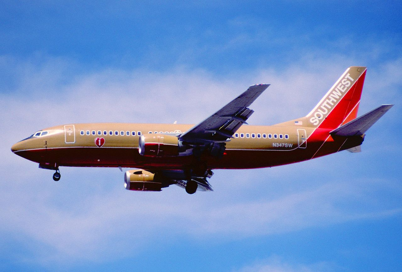 Southwest Airlines 865