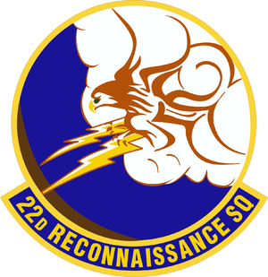 22d Tactical Air Support Training Squadron - Image: 22 Reconnaissance Sq emblem