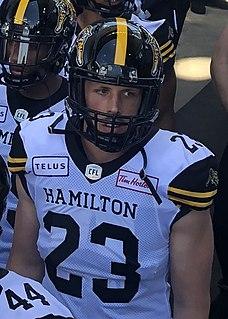 Nick Shortill Canadian gridiron football player