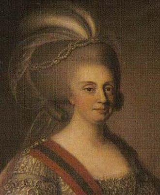 Sash of the Three Orders - Image: 27 Rainha reinante D. Maria I A Louca