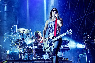 Carnivores Tour - Thirty Seconds to Mars performing in July 2013