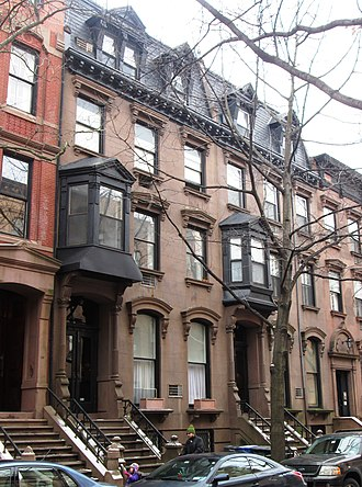 Brooklyn Heights Historic District - Image: 32 & 34 Remsen Street