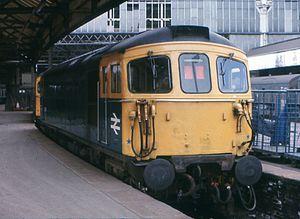 British Rail Class 33 - 33 118 at Waterloo station London