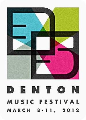 35 Denton - Image: 35 Denton Logo 2012